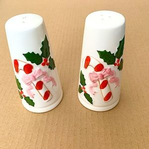 Christmas CANDY CANE Salt and Pepper Shakers